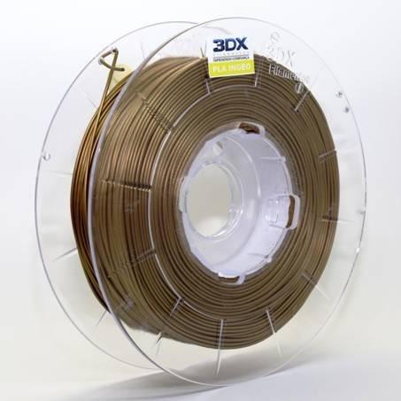 filamento pla 1,75 mm | 500g | dourado