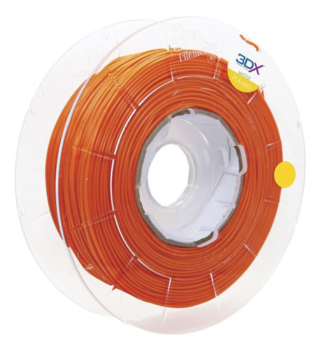 filamento pla 1,75 mm | 500g | laranja