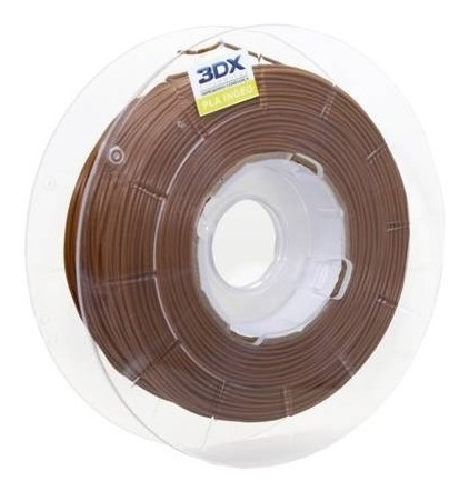 filamento pla 1,75 mm   500g   marrom