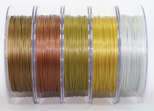 filamento pla 1,75 mm | 500g | ouro