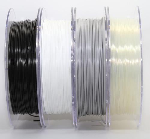 filamento pla 1,75 mm   500g   preto 3dx