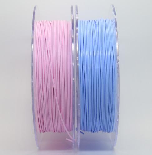 filamento pla 1,75 mm | 500g | rosa