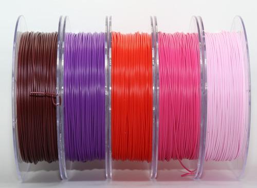 filamento pla 1,75 mm  500g rosa chichete