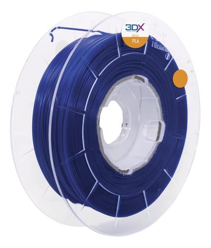 filamento pla azul 1,75 mm   1kg   basic full