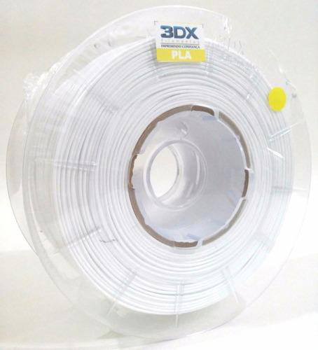filamento pla branco | 1kg | 2,85/3,00 mm