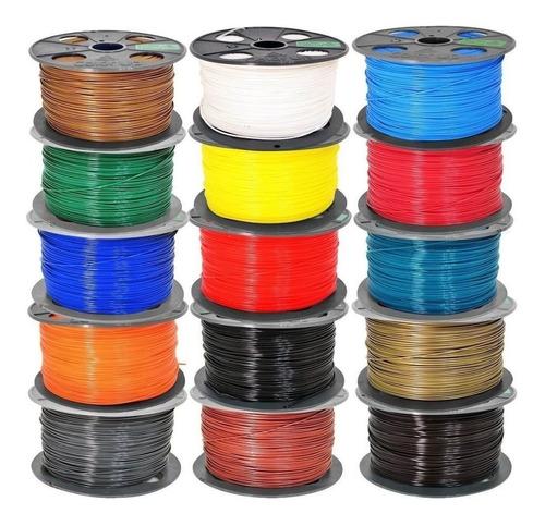 filamento pla colorup 1.75mm 1kg. impresora 3d + portarrollo