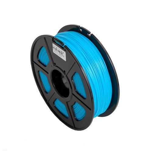 filamento pla glow brilla en la oscuridad azul impresora 3d