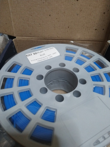 filamento pla impresora 3d  gst  1,75mm 320mt x1 kg icutech