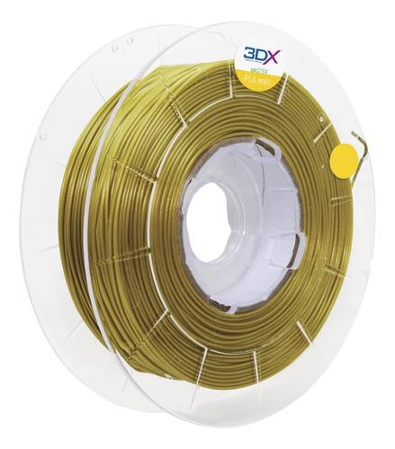 filamento pla ouro 1kg 1,75mm