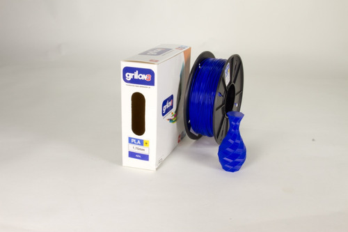 filamento pla+ plus 1.75mm grilon3 1kg impresora 3d colores