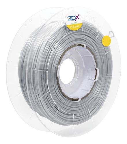filamento pla prata 1kg 1,75mm 3dx