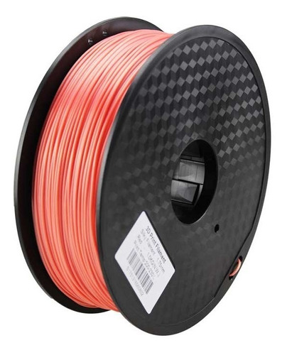 filamento pla rojo 1kg importado impresora 3d 1.75mm red