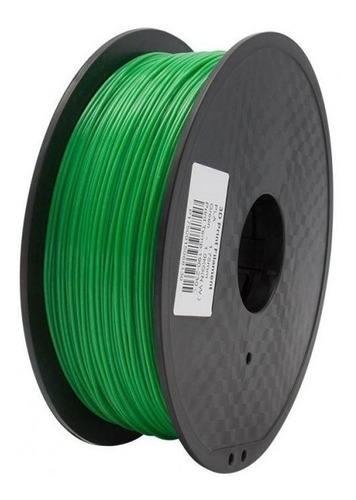 filamento pla verde 1kg importado impresora 3d 1.75mm green