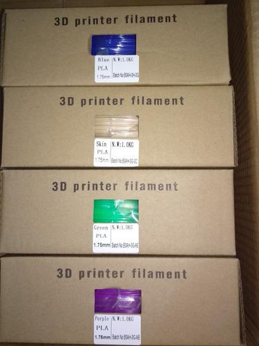 filamento premium pla 1kg impresion 3d
