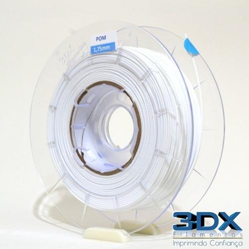 filamento ps ai 1,75 mm   500g branco (poliestireno) 3dx