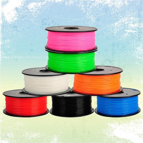 filamento rollo pla 3d abs 1.75mm 1kg impresora 3d kit prusa