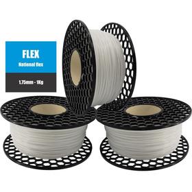 Filamento Tpu Flexível 1kg-1,75mm National 3d ** Promoção**
