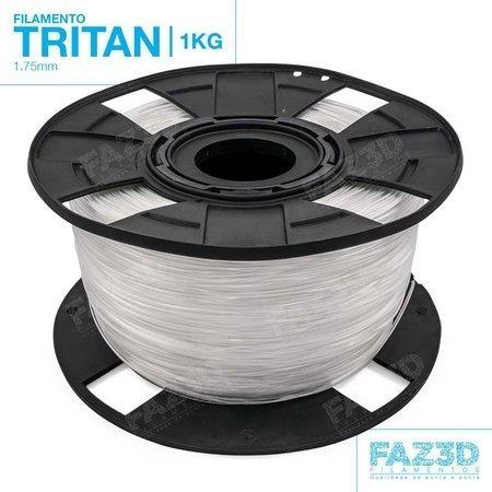 filamento tritan 1,75 mm | 1kg | natural - faz3d
