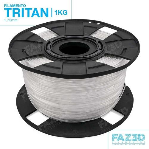 filamento tritan 1.75mm - 1kg - impressora 3d - nf