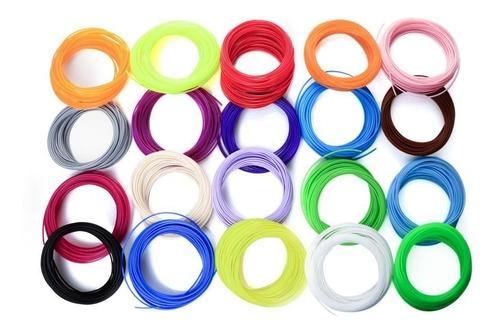 filamentos repuestos pluma impresión 3d pla