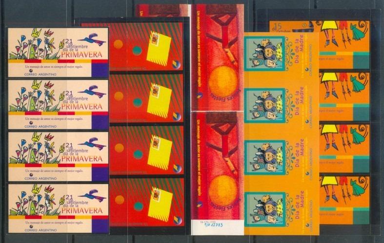 Filasur 5 Cuadros Diferentes Vinetas Oficiales Del Correo 180 - Cuadros-diferentes