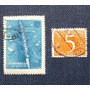 2 Estampillas Stamp 25 Chaptaknaaa Cccp 5 Nederland Holanda