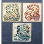 3 Estampilla Hungría Rajta Kuruc 1703 Magyar Posta Historia