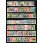 331 Sellos De Chile, De Colección, Usados Postalmente.