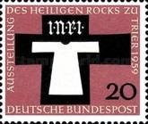 filatelia alemania yv. 186 (1959) religión
