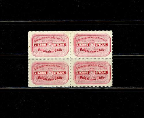 filatelia chilena, tercera parte. sellos litografiados.