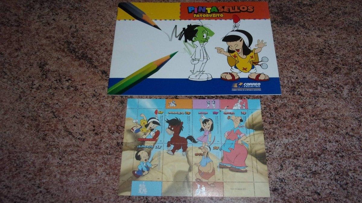 Filatelia: Estampillas Sellos Patoruzú + Block Para Colorear - $ 199 ...