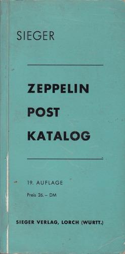 filatelia zeppelin catalogo sellos correo en aleman 1968