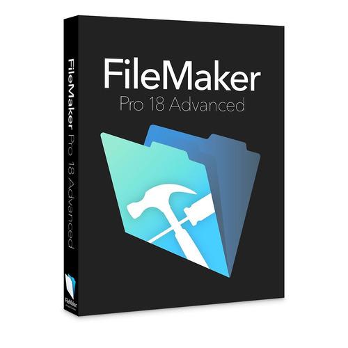 filemaker pro 18 advance 32 y 64 bit licencia 1 pc / windows