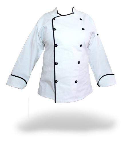 filipina para chef en talla g, xg. marca zizoi