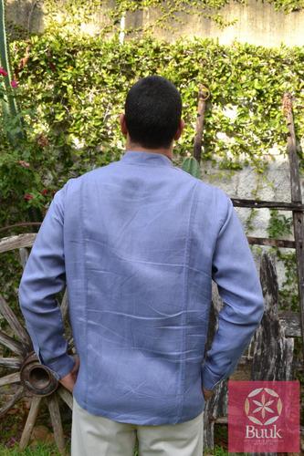 filipina yucateca (guayabera cuello mao)