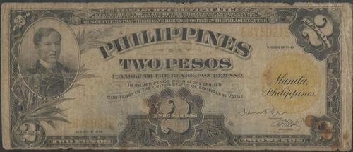 filipinas 2 piso 1941 p90
