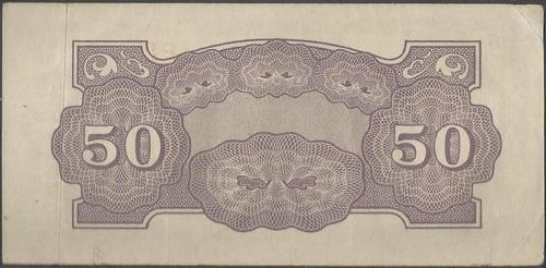 filipinas 50 centavos nd1942 p105a papel color