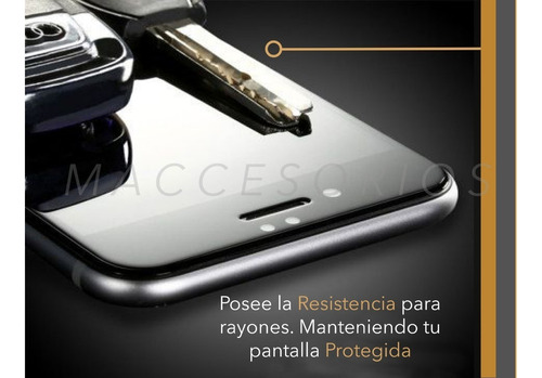 film 3d vidrio templado gorila glass iphone 7 8   bordes