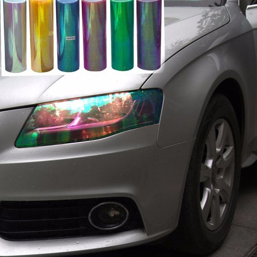 film autoadhesivo camaleon faros auto protector 30cmx1m