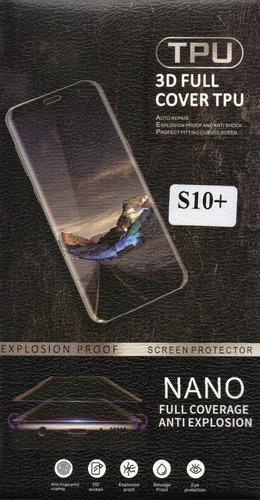 film curvo galaxy s10 plus s10e protector pantalla samsung