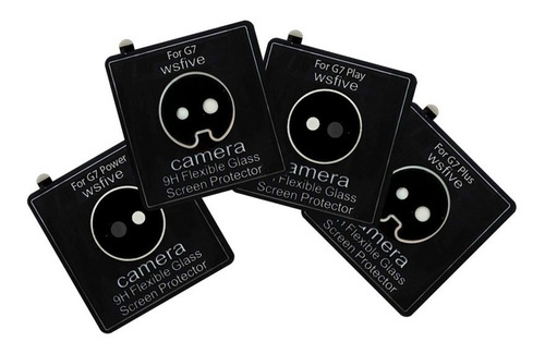 film flexible silicona nano glass flex protector camara moto g7 g7 power g7 plus g7 play