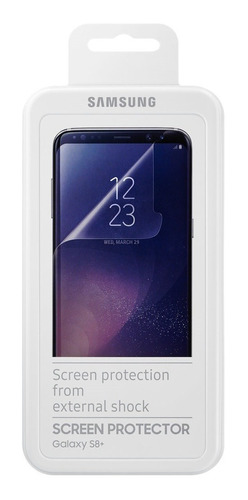 film galaxy s8 plus original curvo samsung protector 2u