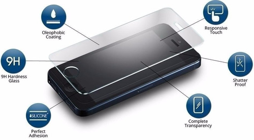 film gorilla glass vidrio templado iphone 6 - polotecno