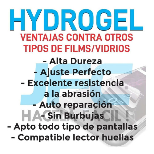 film hydrogel templado completo 10d motorola moto one vision