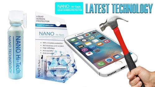 film líquido vidrio cristal nano iphone 11 xs max xr  se 7 #