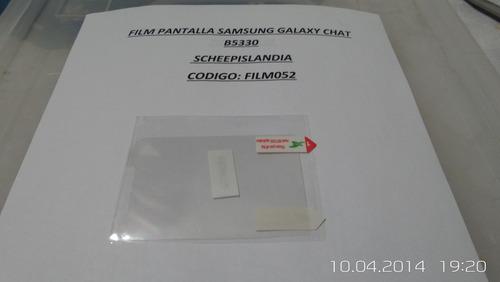 film pantalla galaxy chat b5330 film052