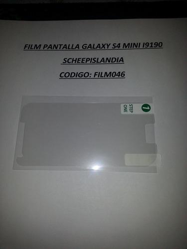 film pantalla galaxy s4 mini i9190 film046
