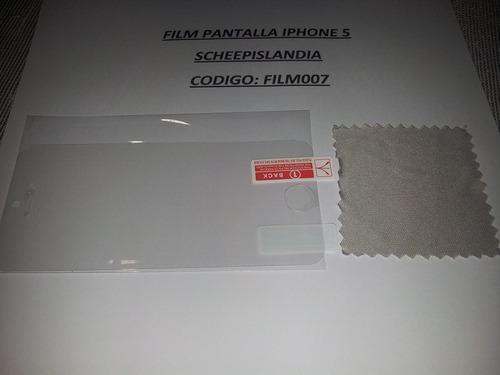 film pantalla iphone 5 film007