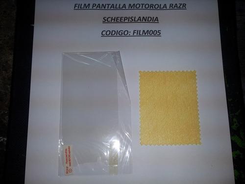 film pantalla motorola razr film005