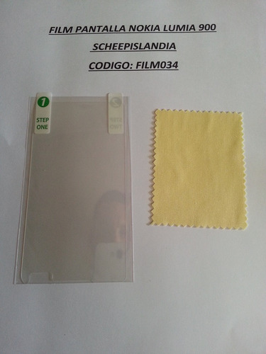 film pantalla nokia lumia 900 film034